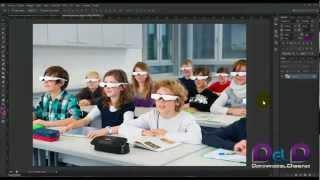 Añadir una marca de agua a una imagen en Photoshop Cs6