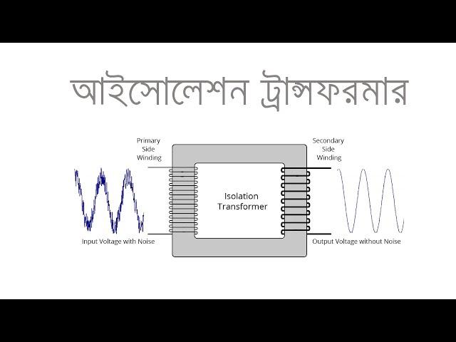 Isolation Transformer in Bangla | আইসোলেশন ট্রান্সফরমার | Voltage Lab