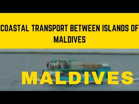 Coastal transport between islands of Maldives