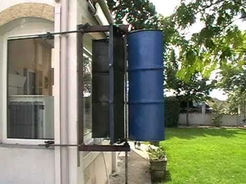 Eolienne Axe Vertical Maison  EssaiMod  Youtube