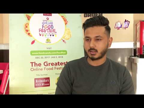 AP1TV- Coverage on Foodmandu's Online Food Festival