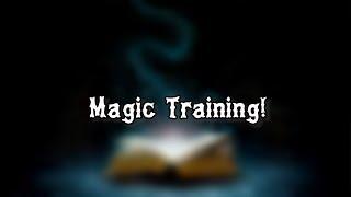 MAGIC TRAINING   ROBLOX