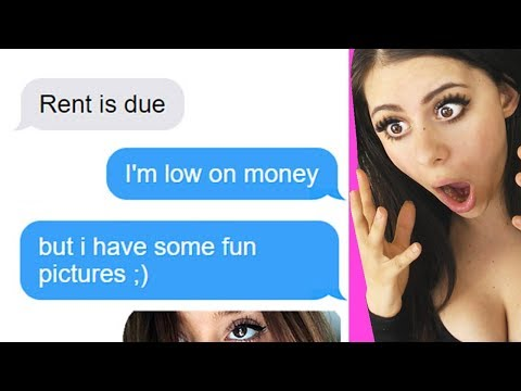 WORST ROOMMATE TEXTS you wont believe happened