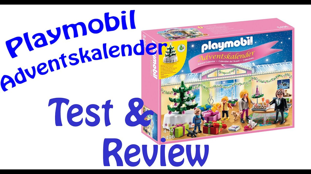 playmobil adventskalender 2014 test review youtube. Black Bedroom Furniture Sets. Home Design Ideas