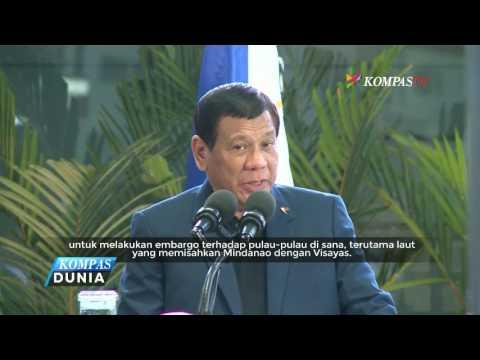 ISIS Melawan, Filipina Perluas Cakupan Darurat Militer