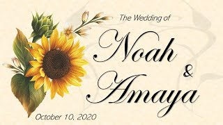 The Wedding of Noah and Amaya
