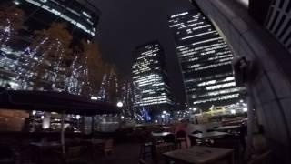 Canary Wharf Night