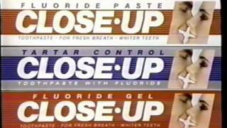 80s Commercial for Close Up Toothpaste