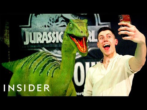 Dinosaur Puppets Come To Life In The Live 'Jurassic World' Show