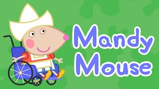 Peppa Pig English Episodes | Meet Mandy Mouse - Dressup Special | Peppa Pig thumbnail