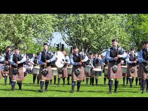 Closkelt Pipe Band @ Bangor 2016