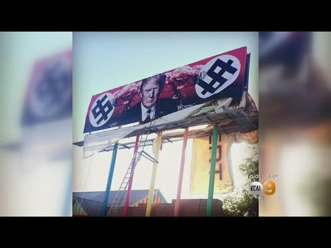 Santa Monica Artist Receives Death Threats Over Anti-Trump Billboard