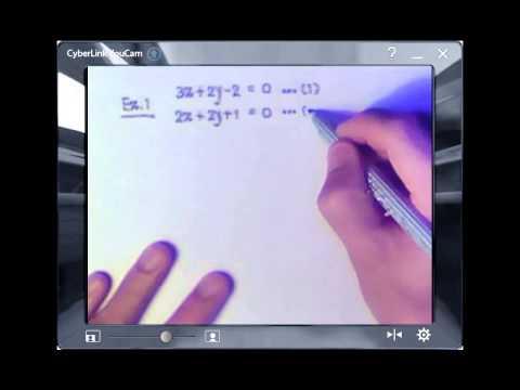 ระบบสมการเชิงเส้นสองตัวแปร PART 1
