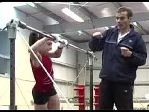 dd80b438d788 how to put on gymnastics safety straps - YouTube