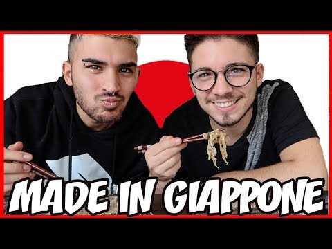 MADE IN GIAPPONE CHALLENGE 🇯🇵 | Matt & Bise