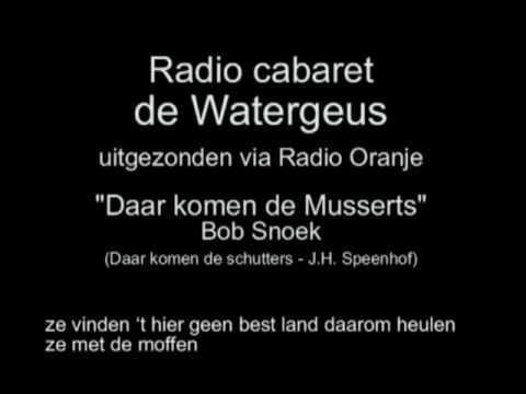 Radio Cabaret de Watergeus afl 20 - Daar komen de Musserts