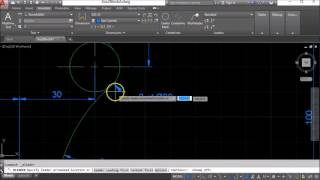 How to draw a diameter symbol in AutoCAD