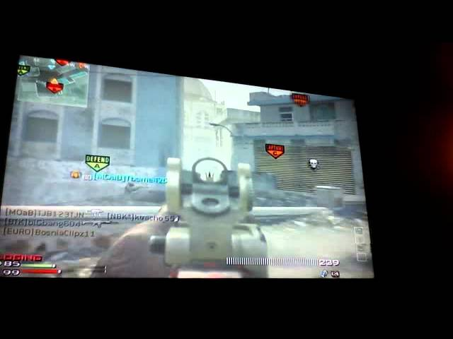 Taylors great mw3 gameplay at bakara with acr 6.8