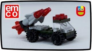 Mainan Lego Mobil Truk Roket Military Emco Toys for Kids