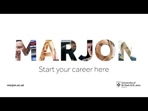 Start your career here -  University of St Mark & St John