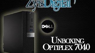 UNBOXING Dell Optiplex 7040