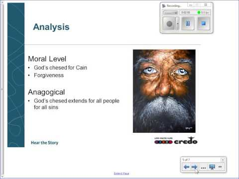 Cain and Abel Chapter 3 Video Lecture
