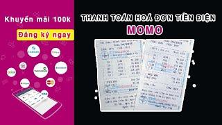 Thanh toán tiền điện bằng ví MOMO hoàn toàn miễn phí phí giao dịch