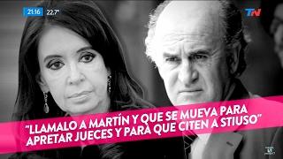 """""""Nuevas escuchas de Parrilli"""", en """"TN Central"""", Wiñazki y Geuna - 07/02/17"""