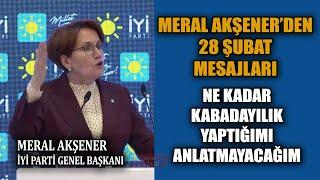 Meral Akşener 28 Şubat Sürecini Anlattı. Postmodern Darbe