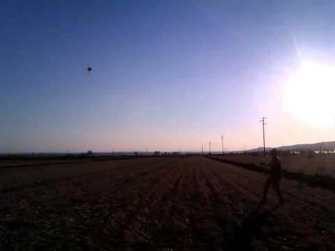 Aquilone in Apricena, 18 Agosto 2012. Kite in Apricena, ITALY.