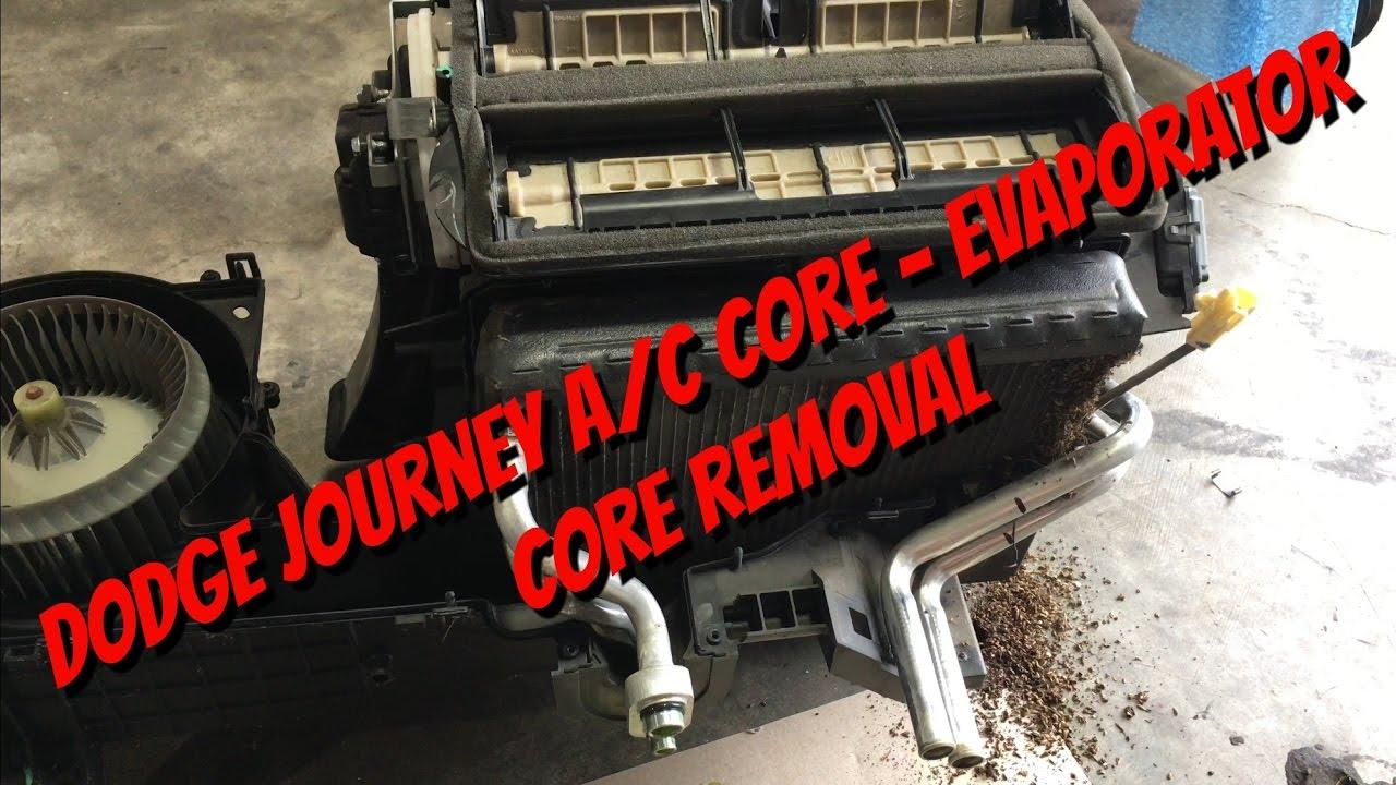 Dodge Journey Evaporator Heater Core Removal Youtube Heating Zone Valve Wiring Diagram