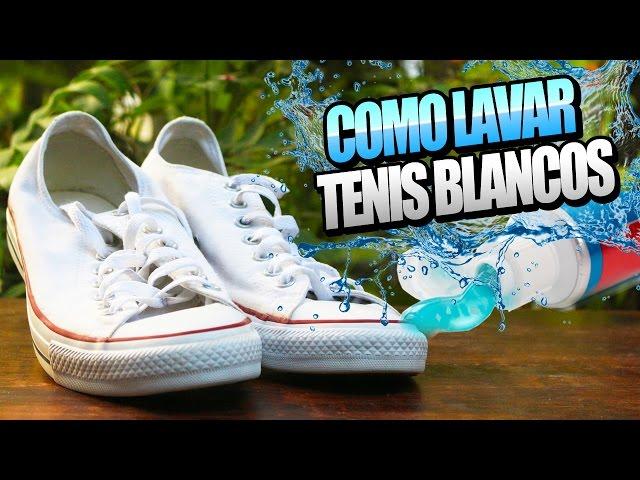 Paraíso bolígrafo el fin  Cómo limpiar tus Converse blancas: los mejores trucos