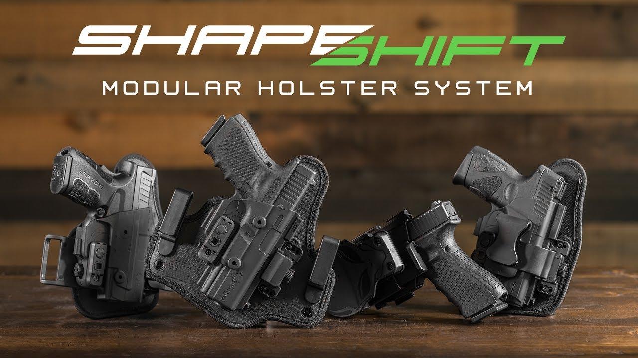 Shape Shift Modular Gun Holster System
