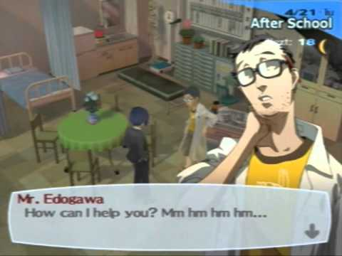 Let's Play Persona 3 FES part 5: Surveying the School