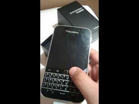 BlackBerry Classic Unboxing (Indonesia)