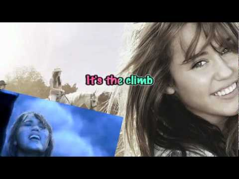 Miley Cyrus - The Climb (Karaoke)