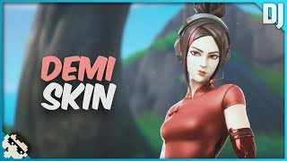 Demi Skin: Scarlet Dragon Set - ¡Pase de batalla de la temporada 9! (Fortnite Battle Royale)