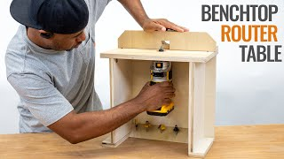 How to make and use a simple trim router table