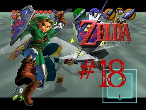 Let's Play - The Legend of Zelda: Ocarina of Time (Episode 18) - Underwater Menu Navigation