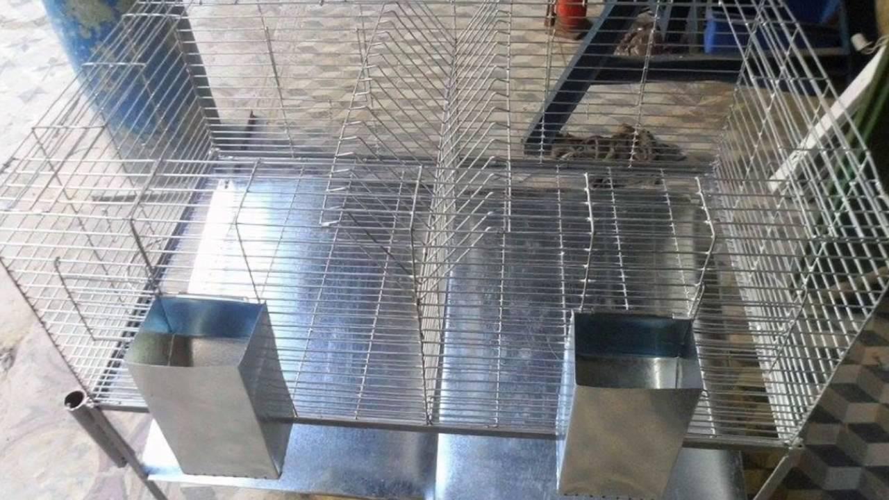 fabrication des cages m talliques pour lapins oiseaux. Black Bedroom Furniture Sets. Home Design Ideas