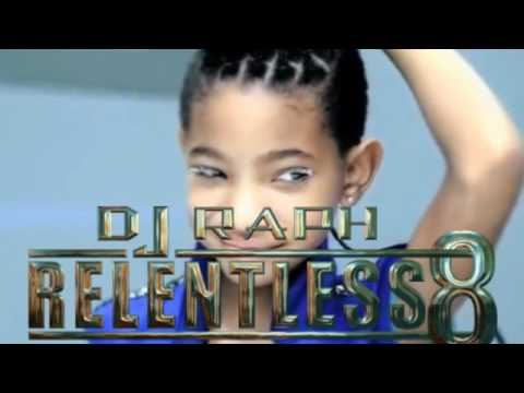 DJ Raph Relentless 8 Snippet ft: Willow Smith  Whip My Hair Vs Rusko + Sub Focus  Hold On!