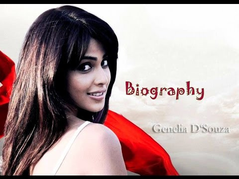 Genelia D'Souza Biography | Genelia Biography and Birtday Wish