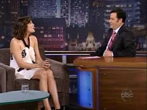Liv Tyler on Kimmel Live 12-06-2008