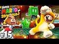 Super Mario 3D World: 2P Co-Op! Secret Bowser Train PART 15 (Nintendo Wii U HD Gameplay Walkthrough)