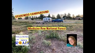 VEDAUWOO CAMPGROUND Medicine B๐w National Forest near Buford Wyoming