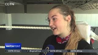 Le Roux swaps ballroom dancing shoes for combat sport