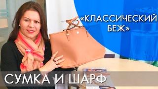 КЛАССИЧЕСКИЙ БЕЖ | СУМКА И ШАРФ | ВИДЕООБЗОР | Ольга Полякова