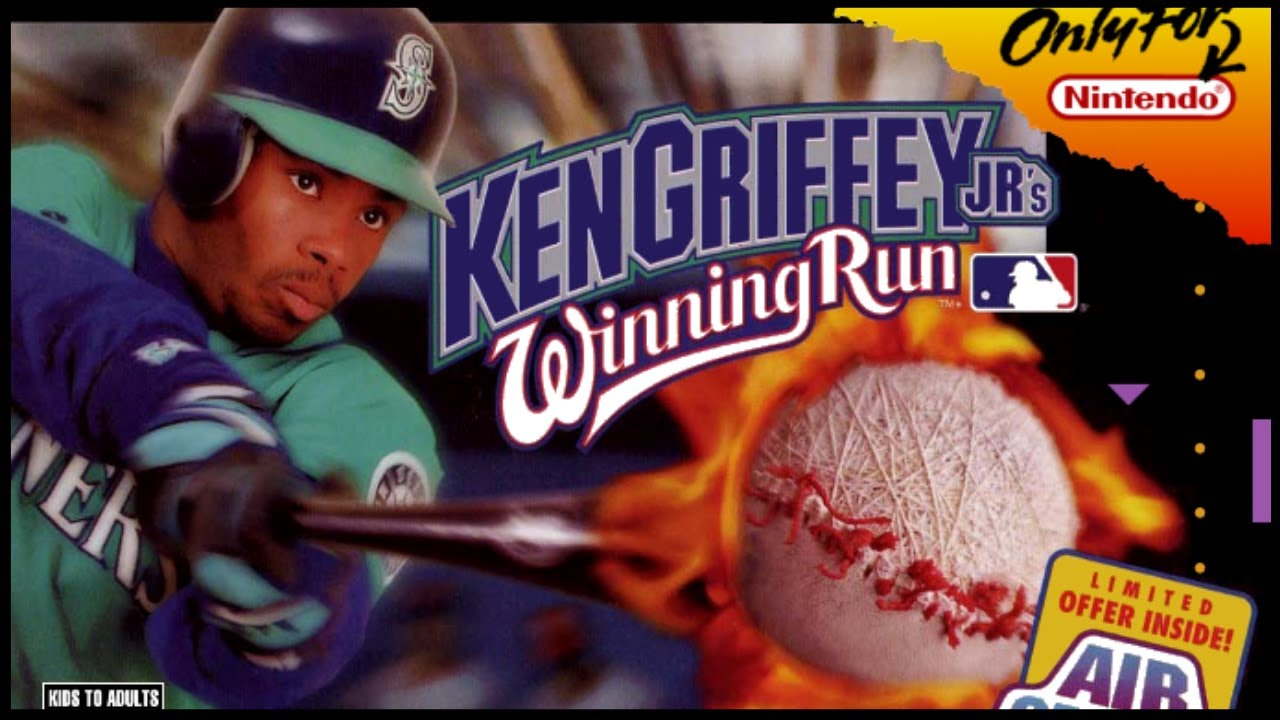 6882de062e Ken Griffey Jr.'s Winning Run - SNES Longplay #60 【Longplays Land ...