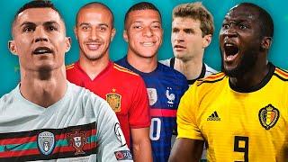 Кто сильнее из фаворитов ЕВРО 2020? Рейтинг и разбор