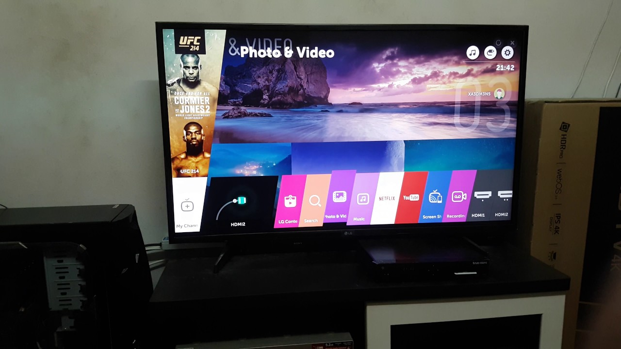 Stream Movie from QNAP NAS to LG UHD TV 4K (DLNA Media Server)